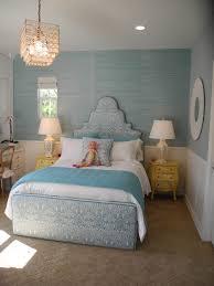 pale blue green grasscloth wallpaper chic little girls room