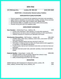 Construction Worker Resume Samples by Resume Examples For Laborer Free Resume Example And Writing Download