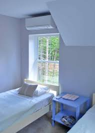ductless mini split concealed installing wall mount ac system above window