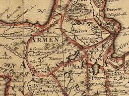 Map Of Armenia Remembering Our Ancestors Maps And Genealogy Resources For