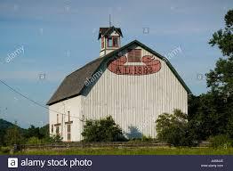 Gambrel Barns by Large Gambrel Barn Built 1883 Near Ithaca New York Tompkins County