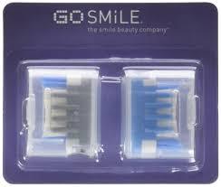 blue light whitening toothbrush amazon com go smile sonic blue teeth whitening system 1 3 pound