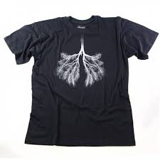 Tree Shirt Lungs Tree T Shirts Casual T Shirt