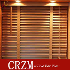 Wooden Curtains Blinds Wood Venetian Curtain Roller Shutter Breathable Wood Blinds