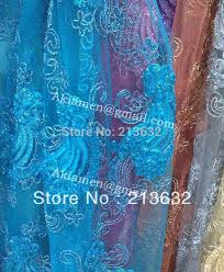 Polyester Flowers - full lace fabric flowers french laces brocade african fabrics