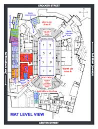 map of wells fargo arena and vicinity