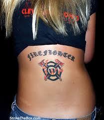 strike firefighter tattoos aztec tribal tattoos