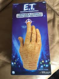 NECA E T hand with light up finger Adjustable to fit like a glove