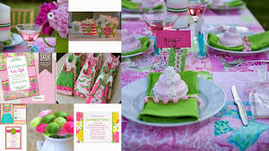 the perfect bridesmaid bridal shower theme lilly pulitzer inspired