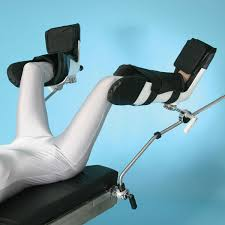 ob gyn stirrups for bed or massage table surgical equipment leg and knee crutch stirrups