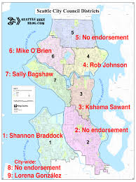 Seattle District Map by Bikethevote A Cycling Procrastinator U0027s Guide To Tuesday U0027s