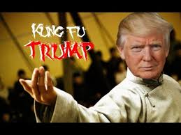 Kung Fu Meme - trump vs cnn fake news meme wars kung fu trump youtube