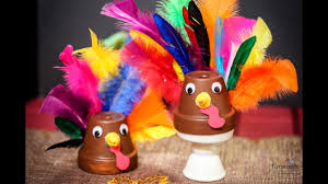 easy clay pot turkey craft best last minute thanksgiving craft for