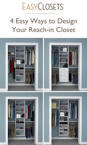 Closet Organizer Near Me by 4 Ways To Design Your Reach In Closet Closet Organizers