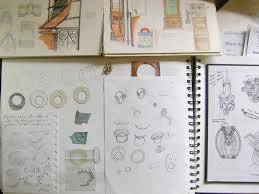julia this is a designers sketchbook and so consists of ideas and