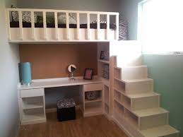Make Loft Bed With Desk by Loft Bed With Steps With Storage To A Loft Bed These Steps Are