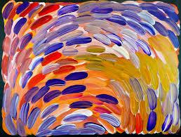 unique painting gloria tamarre petyarre aboriginal artist