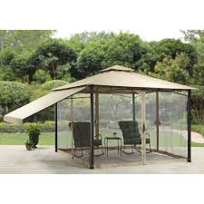 better homes and gardens canal drive cabin style gazebo 11 u0027 x 11