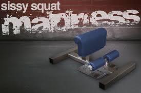 Sissy Squat Bench Sissy Squat Madness Legend Fitness