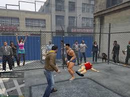 gta 5 street fight wallpapers fight championship gta5 mods com