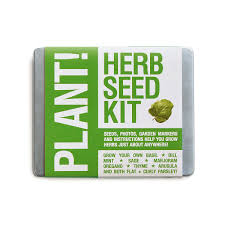 the plant herb seed kit seed garden grow indoor plant