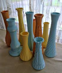 Diy Vases Diy Autumn Pastel Painted Vases
