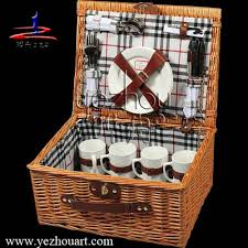 Picnic Basket Set For 4 Picnic Basket Picnic Basket Suppliers And Manufacturers At