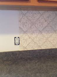vinyl wallpaper kitchen backsplash home design ideas