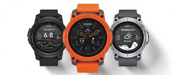 smartwatch android nixon debuts android smartwatch with 100 meter water resistance