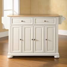 kitchen island with storage cabinets polished oak wood island with 8 section open shelves and