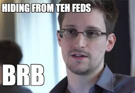 Snowden Meme - snowden cleared to leave airport enter russia pcworld