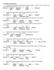 worksheet mixed stoichiometry problems 2012 2013 name block date