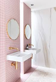 Pink Tile Bathroom Decorating Ideas Becjuddloves Does It Again The Style Revealed Their