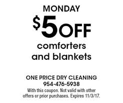 Price To Dry Clean A Comforter Localflavor Com One Price Dry Cleaning 22 Coupons