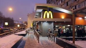 Google Home In Russian by First And Biggest Mcdonalds In Russia At Pushkin U0027s Square Moscow