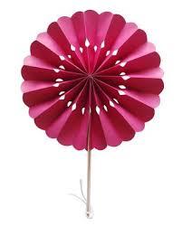 buy paper fans in bulk 8 fuchsia pink pinwheel paper folding hand fan for weddings