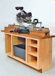 table saw station plans miter saw station plans woodarchivist