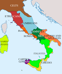 Map Of Italy With Cities by Genetic History Of Italy Wikipedia