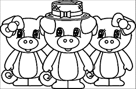 3 little pigs coloring pages wecoloringpage
