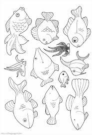 fish coloring pages seahorse fish coloring sheet fish coloring page free printable