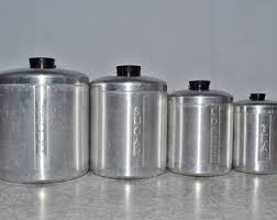vintage canisters for kitchen kitchen canisters vintage etsy