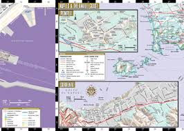 Map Of Naples Italy by Streetwise Naples Map Laminated City Center Street Map Of Naples