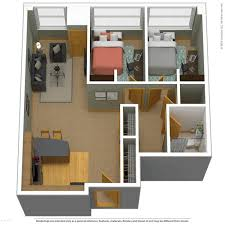 2 floor bed apartment floor plans near marquette the marq
