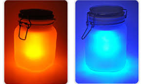 two color solar powered sunjar like lamp review the green