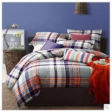 Plaid Bed Sets Blue Plaid Overstock Cool Unique Organic Bedding Sets