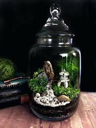 fairy garden terrarium fairy garden bistro set glass cloche clay