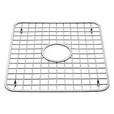 sink grates for stainless steel sinks amazon com interdesign gia kitchen sink protector wire grid mat
