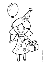 birthday boy coloring pages cake birthday party coloring pages for 4 years coloring pages