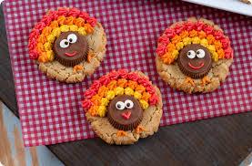 turkey sugar cookies peanut butter cup turkey cookies cookie recipes tips