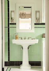mint green and white room mint green black white tile